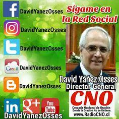 David Yañez Osses:  Saludos, muchos amigos ya saben mi nombre complet...