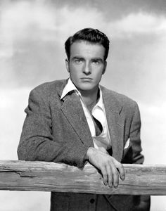 Montgomery Clift:  Strong and sensitive.