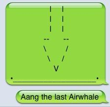 Aang the last airwhale....    This is my 850th pin on this board.