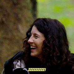 "Sam - ""Did you touch a vibrating stone?""  Cait - ""zzzzzzzz!"""