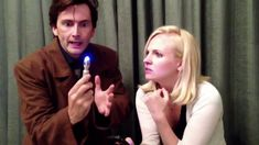 David Tennant Returns as The Tenth Doctor with Georgia Moffett - Doctor ...
