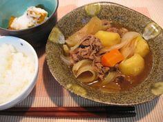 Japanese Food Recipes: Japanese Beef-Potato Stew(Niku-jaga) Recipe