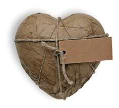 Packaged ceramic heart the perfect valentine's gift
