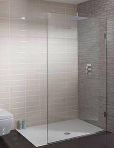 Ensuite - walkin shower TEN Single Fixed Panel in Ten Bathroom Shower Panels, Steam Showers Bathroom, Glass Shower, Wet Room Shower Screens, Shower Rooms, Frameless Shower, Bathroom Design Small, Bathroom Layout, Modern Bathroom