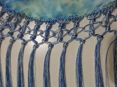 Flamenco Costume, Crochet Borders, Weaving, Sequins, Beads, Silver, Accessories, Belly Dance, Crochet Ideas