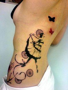 tatuagem-bailarina-flores-costas.jpg (474×632)