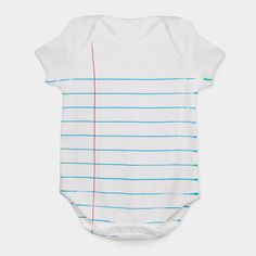 Loose Leaf One-Piece, so cute for baby shower!! People can leave a message or quote for baby!!