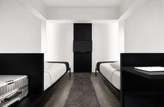 Monochromatic and Minimalist: The Hotel Mono in Singapore - Design Milk