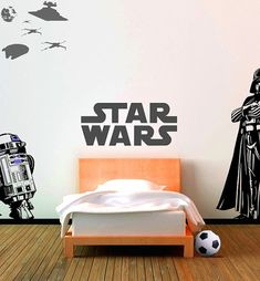 kid bedroom ideas with starwars theme