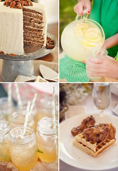 Southern foods & drinks   At Home in Love