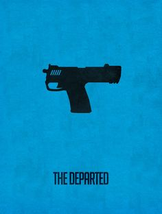 The Departed (2006) ~ Minimal Movie Poster by Subhajyoti Ghosh