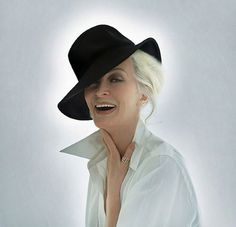 Gorgeous at 80! I want to be Carmen Dell'Orefice when I 'grow up' :-)