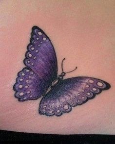 purple rose tattoos with butterflies Purple Butterfly Tattoo, Purple Rose Tattoos, Butterfly Tattoo Cover Up, Butterfly Tattoo Meaning, Butterfly Tattoo On Shoulder, Butterfly Tattoos For Women, Butterfly Tattoo Designs, Arm Tattoo, Sleeve Tattoos
