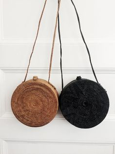 Wicker bags #trendy #summer