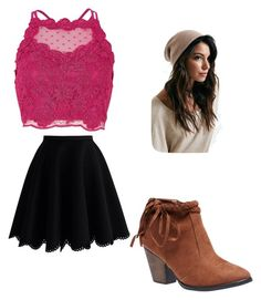 """""""clothes 264"""" by bellskids on Polyvore featuring Chicwish, Wet Seal and River Island"""