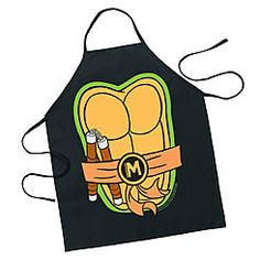 ICUP TMNT Michelangelo Character Apron