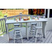 """Found it at Wayfair - 74"""" Double Wide Patio Bar"""