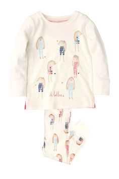 Buy Pink Bunny Snuggle Pyjamas Three Pack from the Next UK online shop