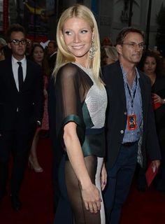 Fotos: Sem calcinha, Gwyneth Paltrow? Atriz usa vestido ousado em première de Homem de Ferro 3 - Yahoo! OMG! Brasil