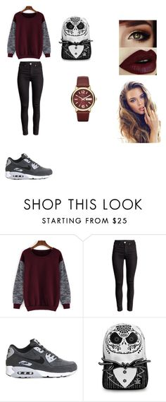 """outfit 8"" by camelia-kaylahana on Polyvore featuring NIKE, Marc by Marc Jacobs, women's clothing, women, female, woman, misses and juniors"