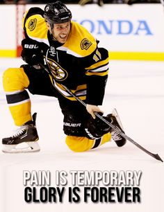 Gregory Campbell. Glory is forever. Skating with a broken leg.