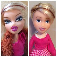 "Bratz doll ""makeunder"""