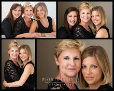 Mother & Daughters Session | Beauty Session | Women Poses {Indianapolis Portrait Photographer} » Meredith Gradle Photography