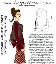 Hot Patterns La Rue Free Handbag Pattern