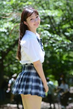 Cute Little Girl Dresses, Girls In Mini Skirts, Cute Young Girl, Cute Girl Outfits, School Girl Japan, Japanese School Uniform Girl, Sexy School Girl Costume, School Girl Outfit, Cute Asian Girls