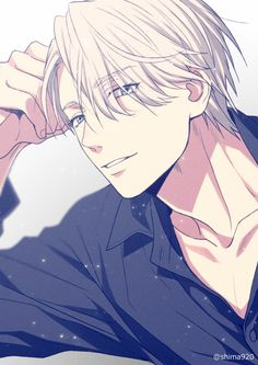 He is too good looking for an anime #viktor #yoi