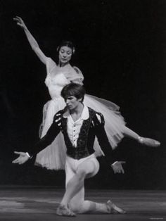 He was offered to join the Royal Ballet, and his first performance with the company was partnering Margot Fonteyn in Giselle. It was February 21, 1962.  It was a great success; during the curtain calls Nureyev dropped to his knees and kissed Fonteyn's hand, cementing an on-and-offstage partnership which lasted until her 1979 retirement. Fonteyn and Nureyev became known for inspiring repeated frenzied curtain calls and bouquet tosses.