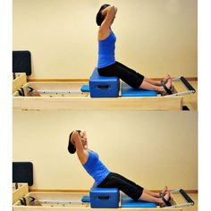 Beginner Pilates Reformer Workout: Short Box - Flat Back