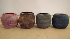mates mini Oxidos Planter Pots, Vase, Mini, Home Decor, Things To Do, Clay, Plant Pots, Objects, Decoration Home