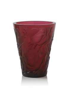 Lalique Ispahan Vase Red Crystal Ispahan vase Red crystal lbs / kg H D H 24 cm D cm SKU: 10114700 Art Deco Movement, Gold Powder, Gothic Home Decor, Crystal Gifts, Venetian Mirrors, Decoration, Decorative Items, Accent Decor, Glass Art