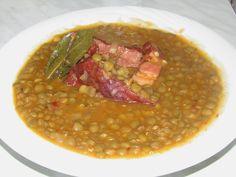 Bucataria tuturor: Mancare de linte verde cu afumatura. Romanian Food, Salsa, Cooking Recipes, Mai, Ethnic Recipes, Tips, Green, Chef Recipes, Salsa Music