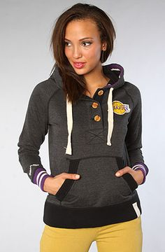 e6092ba49f7 The Los Angeles Lakers Victory Sweatshirt by Mitchell  amp  Ness Lakers  Girls