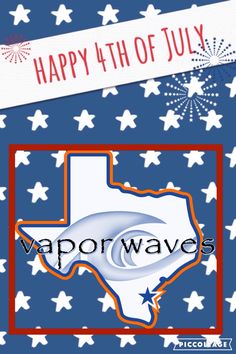 Happy 4th of July!!! From your one and only favorite Vapor Waves crew!!! #breatheinvapeout #4thofjuly #letfreedomring #independence