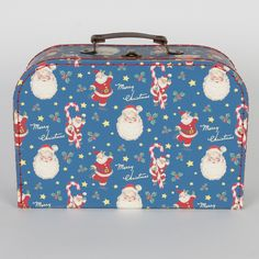 Set of 3 Retro Christmas Suitcases | Storage and Tupperware | Sass & Belle
