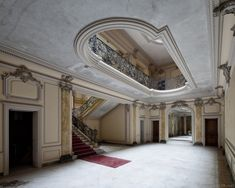 Abandoned Villa in France by ~bRokEnCHaR by Abandoned Property, Abandoned Castles, Abandoned Places, Old Mansions, Abandoned Mansions, Old Buildings, Abandoned Buildings, Beautiful Architecture, Beautiful Buildings