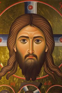 Beauty and the Face of God - Glory to God for All Things Religious Images, Religious Icons, Religious Art, Roman Church, Light Of Christ, Face Icon, Jesus Face, Spirited Art, Byzantine Icons