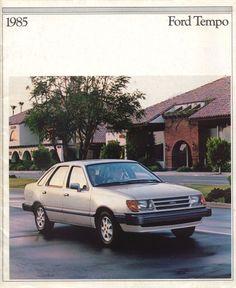 1985 Ford Tempo Sport GL 4-Door Sedan