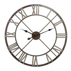 """Trent Austin Design 27"""" Open Center Iron Wall Clock"""