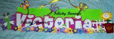 Banner en foami Butterflies