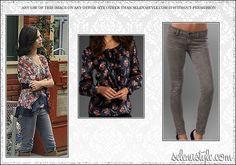 Top: Revolve Clothing  Revolve Clothing - $125    Jeans: ShopBop  ShopBop - $107.80