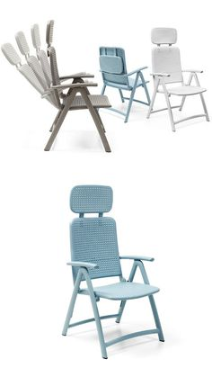Acquamarina: vintage colors for outdoor spaces - Nardi presents new seating collection on preview at Salone del Mobile @nardioutdoor