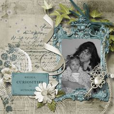 A picture of me with my daughter.  Kit used: MEMORIES LAST FOREVER by Jessica art-design available at: http://scrapfromfrance.fr/shop/index.php?main_page=index&manufacturers_id=99