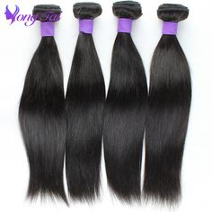 virgin remy peruvian virgin straight human hair customized 8-30inches 4 bundles per lot 100g per pcs/3.5 oz hair extensions <3 Click the image to view the details