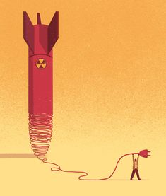 Editorial Illustrations 2014 by Davide Bonazzi