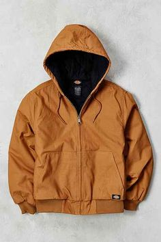 Dickies Sanded Duck Hooded Jacket - Urban Outfitters