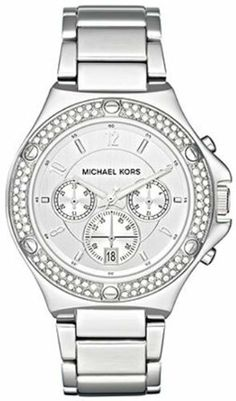 Michael Kors Women's MK5566 Grey Ceramic Bracelet Silver Dial Chronograph Watch Michael Kors. $294.26. Grey ceramic bracelet; Chronograph function